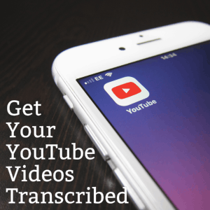 Pay For YouTube Transcription