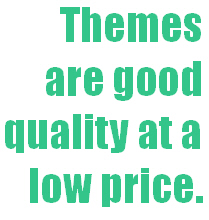 Good quality and low prices