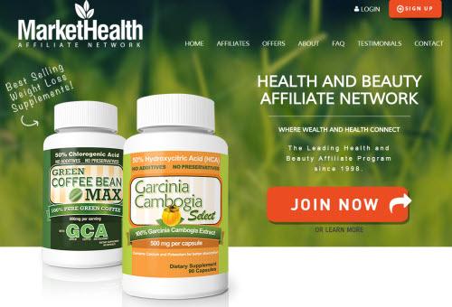 MarketHealth Website