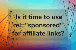 Should you add nofollow attribute to all affiliate links?