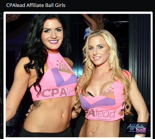 Sexy girls in CPA lead branded clothing
